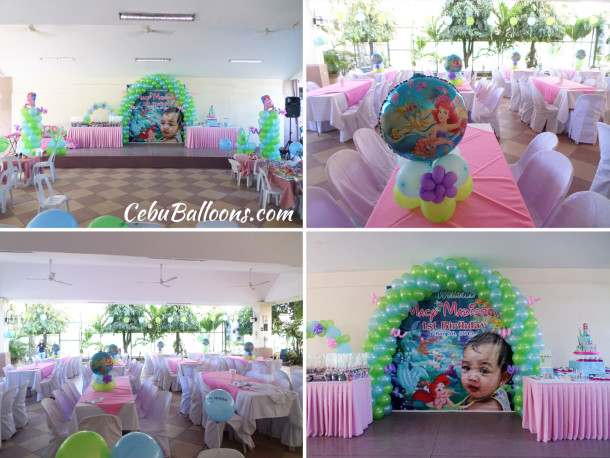 Little Mermaid (Ariel) Sulit Balloon Decoration Package D at IPI Recreation Center