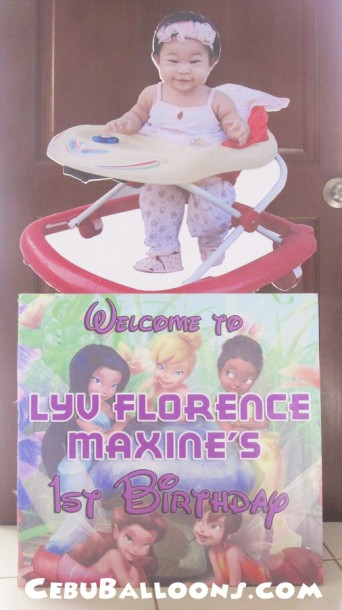 Lyv Florence Welcome Styro Standee