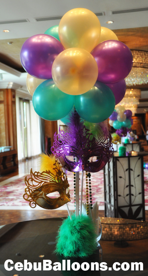 Masquerade Centerpiece Cebu Balloons And Party Supplies