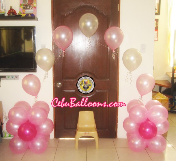 Medium-sized Balloon Arch at Bureau of Internal Revenue
