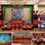 Mickey Mouse Balloon Decor, Loot Bags, Photobooth, etc at Sugbahan Restaurant