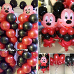 Mickey Mouse Balloon Decoration - Buena Mano for 2015