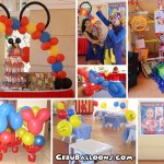 Mickey Mouse Balloon Decoration & Party Package at Aldea del Sol