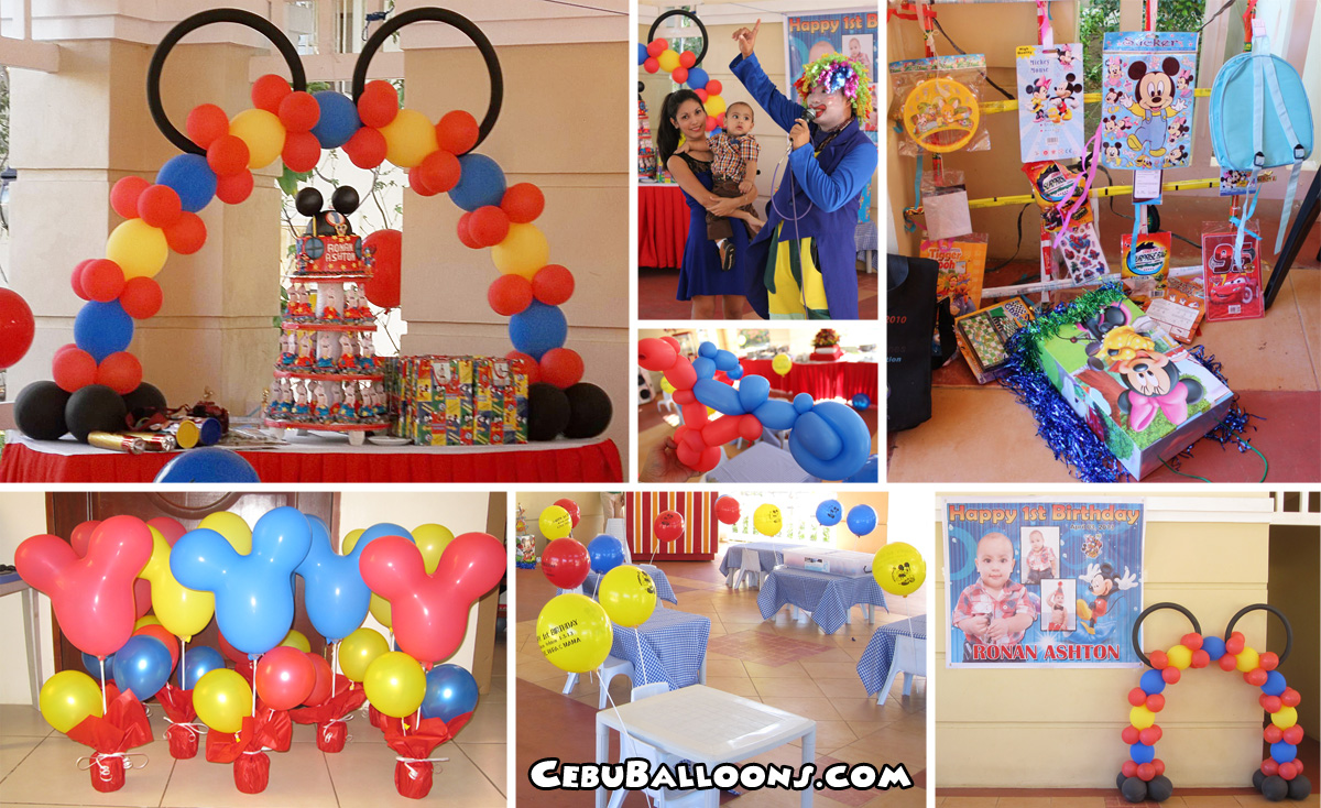 Mickey Mouse | Cebu Balloons and Party Supplies