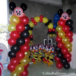 Mickey Mouse Balloon Decors at CSI-Area, Pagsabungan