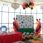 Mickey Mouse Balloon Decors with Standee at Citi Park Hotel