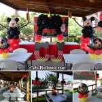 Mickey Mouse Balloon Setup for CJ's 1st Birthday at Pang-pang Miniland Cordova