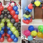 Mickey Mouse Balloons (Red, Yellow, Black, Blue) at Yati, Liloan