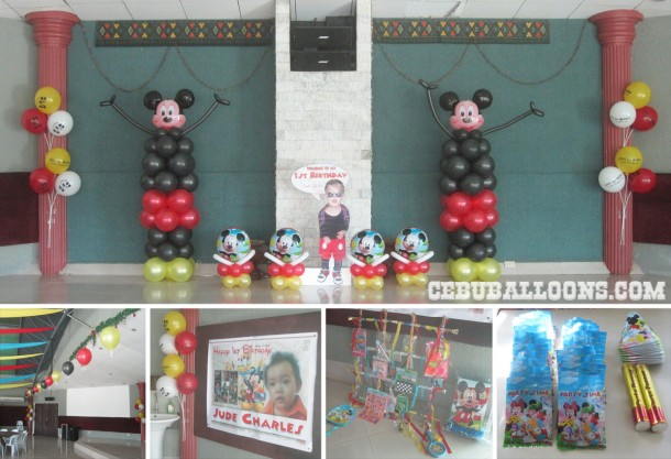 Mickey Mouse Decor & Party Package at ALT Compound
