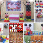 Mickey Mouse Decoration & Party Package at Eversley Sanitarium