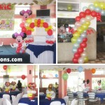 Mickey Mouse & Lightning McQueen Decoration Setup