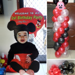Mickey Mouse Party Package for Fritz Ethan's 1st Birthday at Yati Liloan