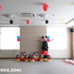 Mickey Mouse Sculpture with other Balloons at Avalon Residences
