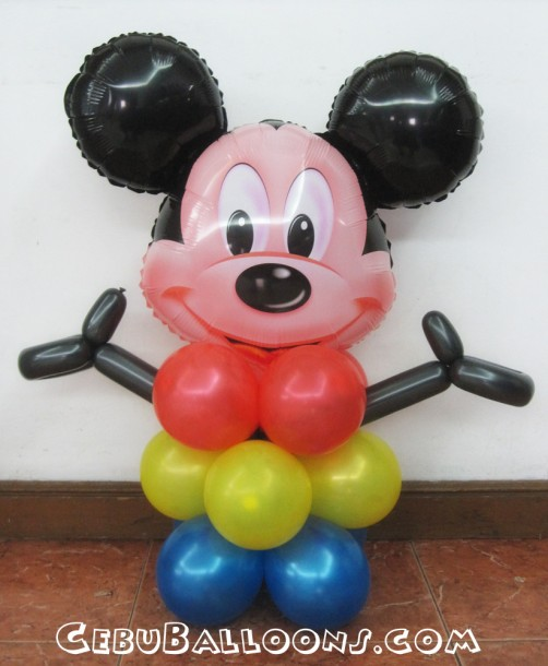 Mickey Mouse with Two Thumbs Up Stage Decoration