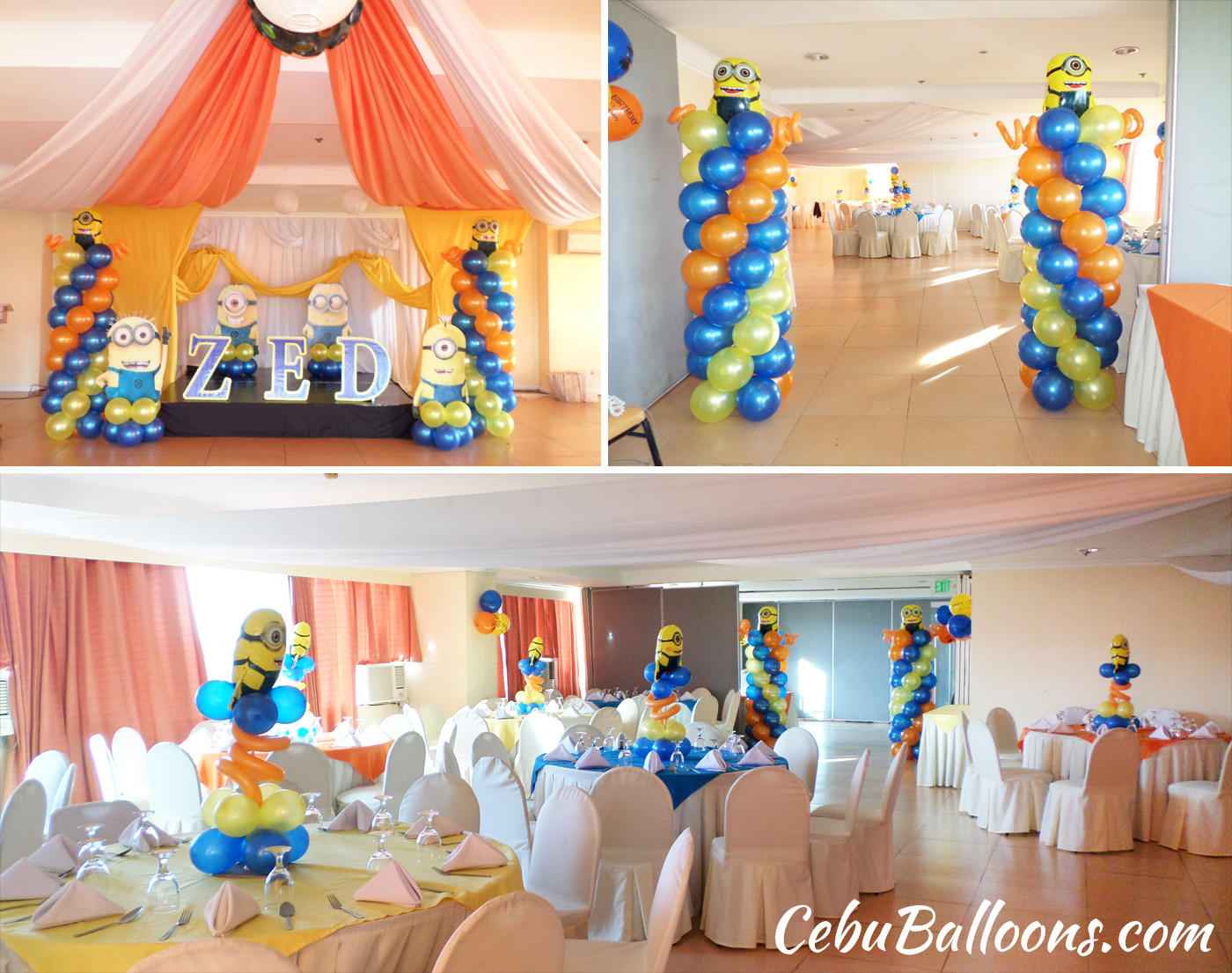 Golden Peak Hotel Cebu Balloons and Party Supplies