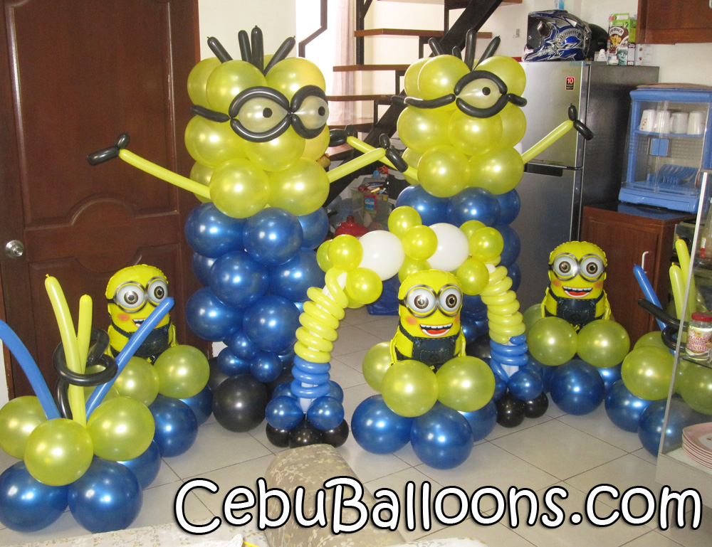 Minions despicable me cebu balloons and party supplies