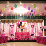 Minnie Mouse Balloon Decoration & Party Package (Saicy Trozo) at Hannah's Party Place