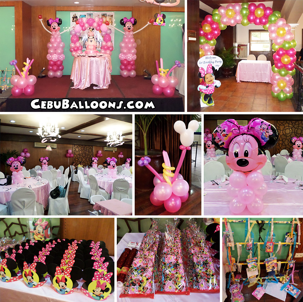 Minnie mouse baby shower decorations ideas for Baby minnie decoration ideas