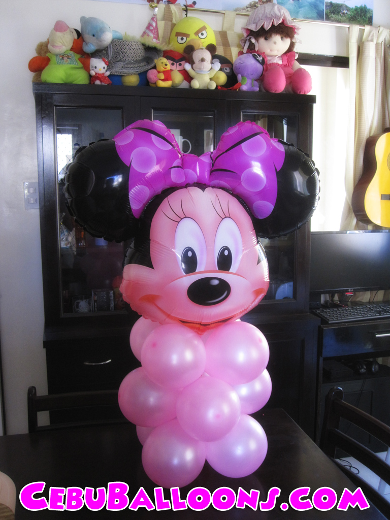 Minnie mouse cebu balloons and party supplies