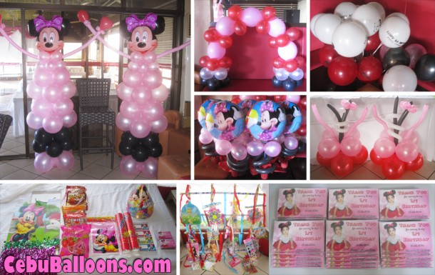 Minnie Mouse Decor & Party Package at Mactan Pension House