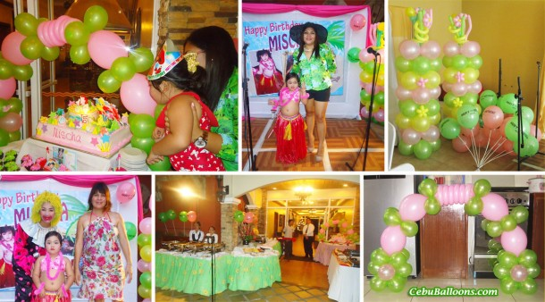 Mischa's Hawaiian Party at Crown Regency Mactan