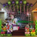 Neverland (Tinkerbell) Balloon Setup at Allure Hotel