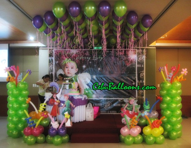 Neverland Balloon Setup at Allure Hotel
