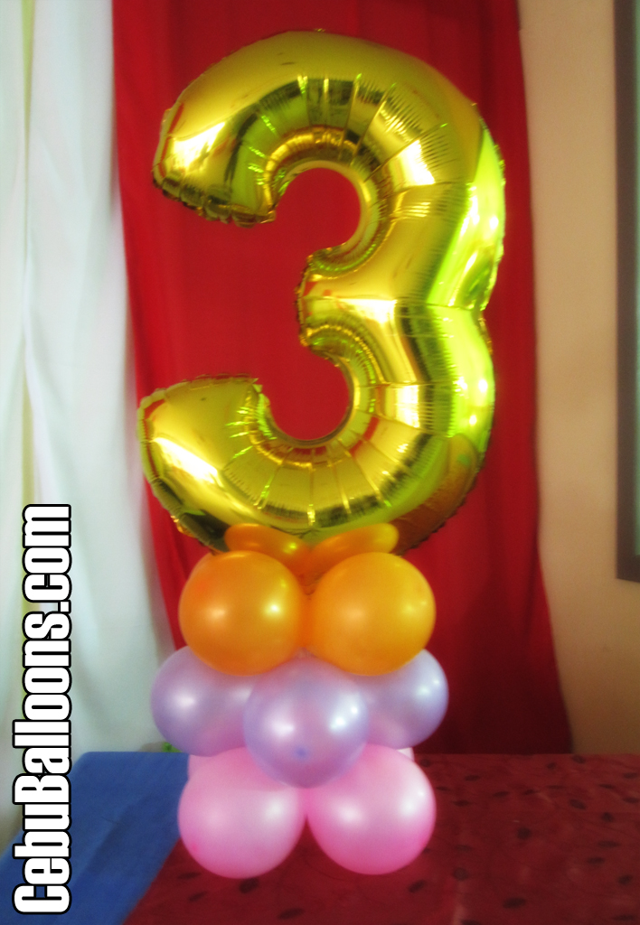 Dora the explorer cebu balloons and party supplies for Number 3 decorations