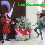 Peter Pan, Captain Hook & Tinkerbell Celebrant