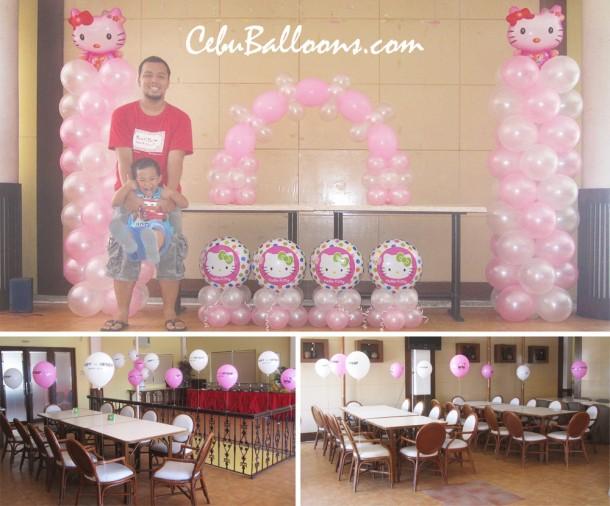 Pink & White Hello Kitty Decor Package at Sugbahan