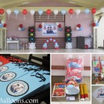 Racing Theme Balloon Decoration & Party Package at Northfield Residences