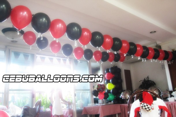 Racing-theme Balloonderitas