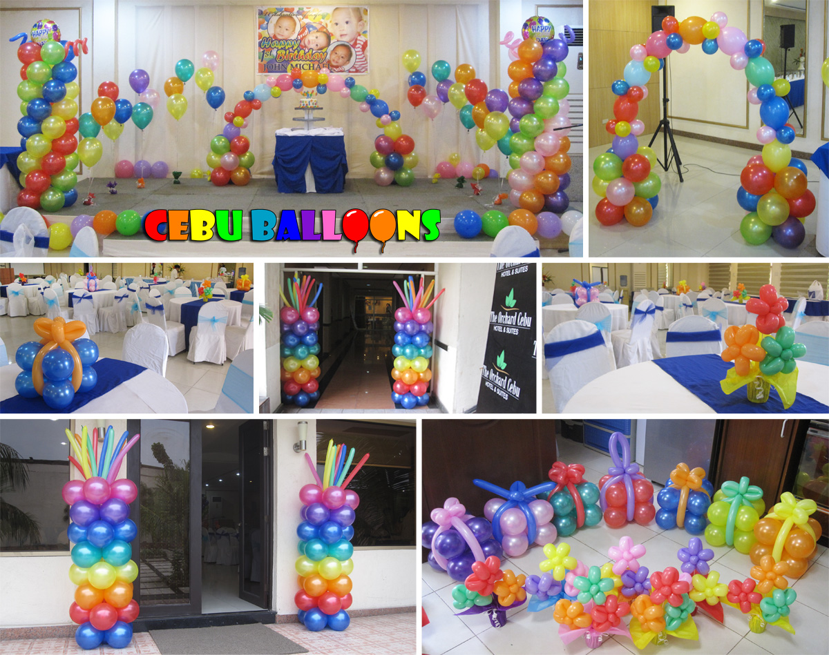 Colorful Birthday Party Decoration Package At Orchard Hotel