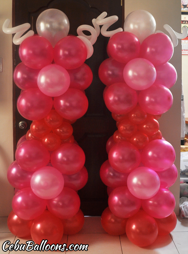 Luftballons red balloons cebu and party
