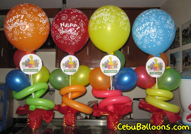 Sesame Street Balloon Arrangement