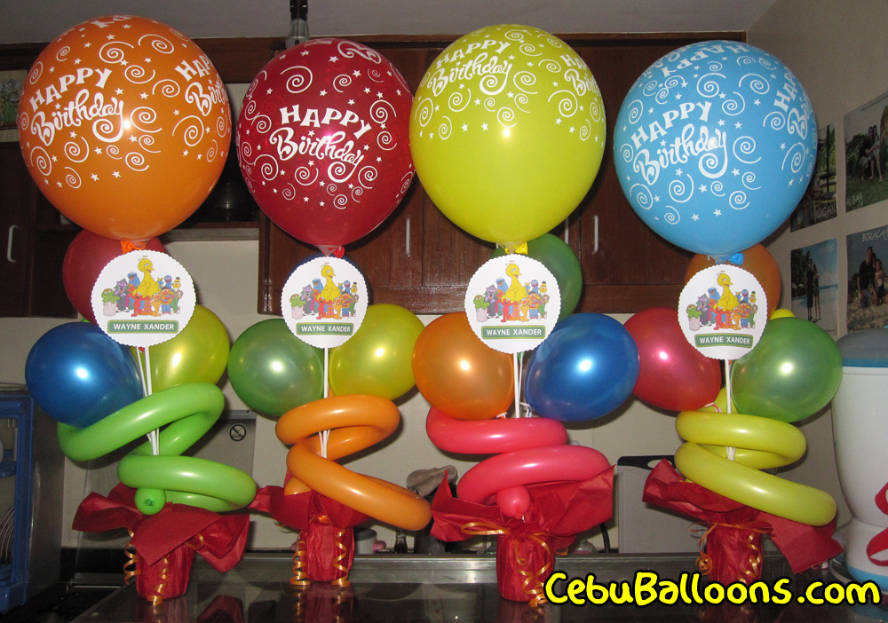 Sesame Street Cebu Balloons And Party Supplies