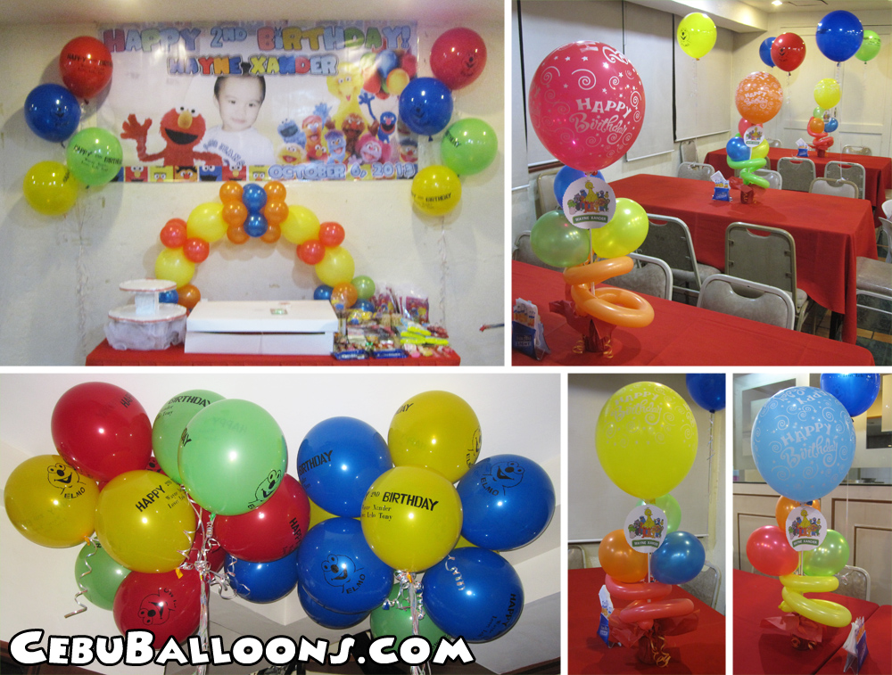 Sesame Street | Cebu Balloons and Party Supplies