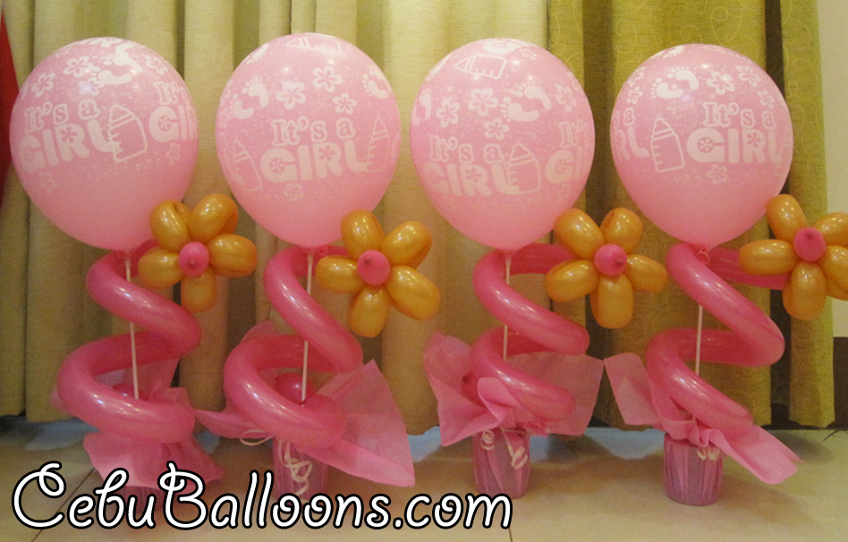 Plastic Flower Vase Cebu: Christening Buntings Decoration