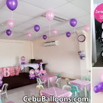 Simple Hello Kitty Balloon & Styro Setup for Jerien's 1st Birthday at LEMCO Lapulapu City
