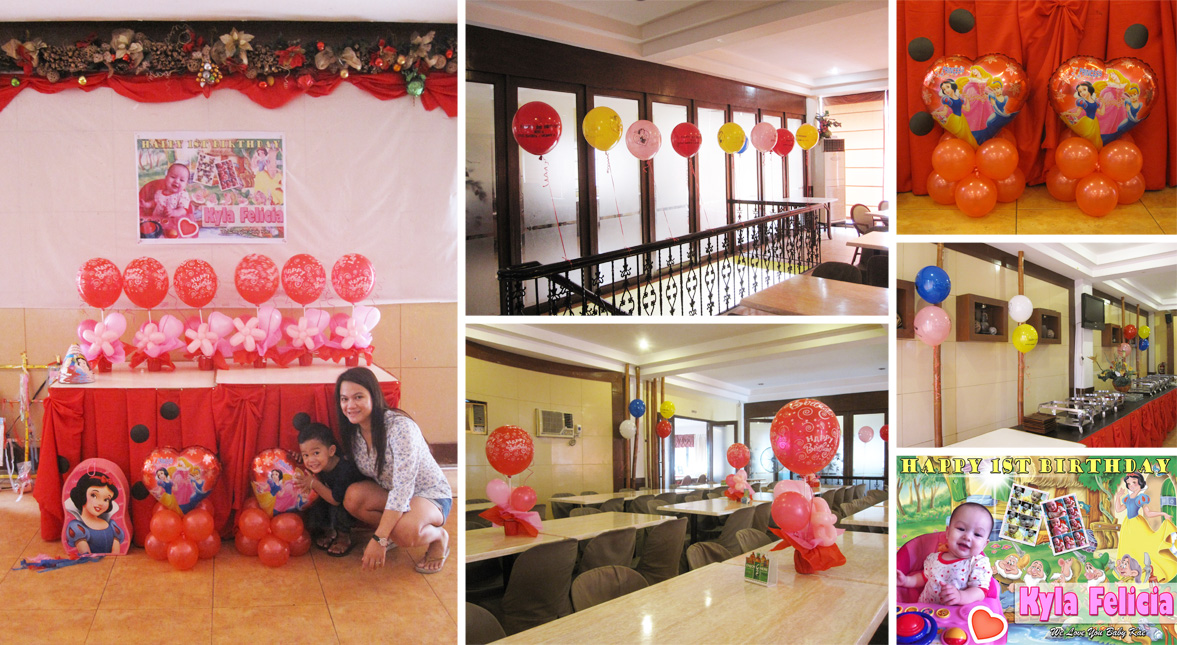 Sugbahan restaurant cebu balloons and party supplies