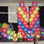 Spiderman Balloon Decor Package at IGLC Montessori School
