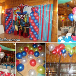 Spiderman Birthday Decoration at Lola Saling's Mandaue