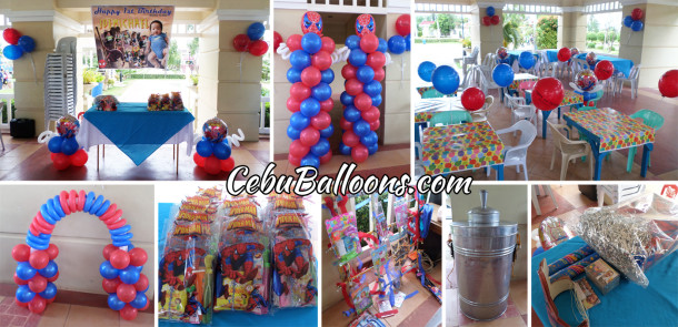 Spiderman Combo Birthday Package A at Aldea del Sol
