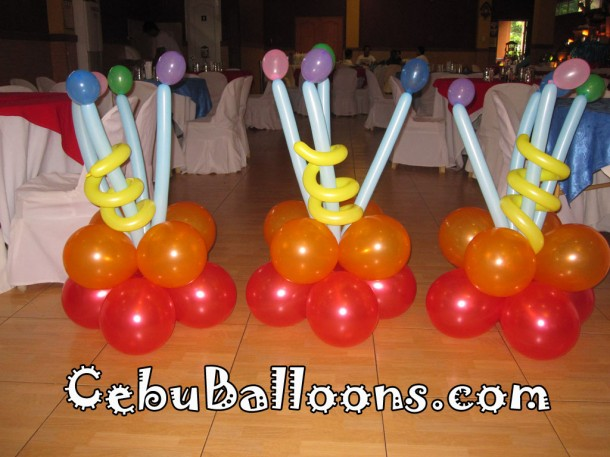 Stage Decors with Micro Balloons
