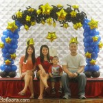 Starry Starry Night Balloon Concept at Grand Convention