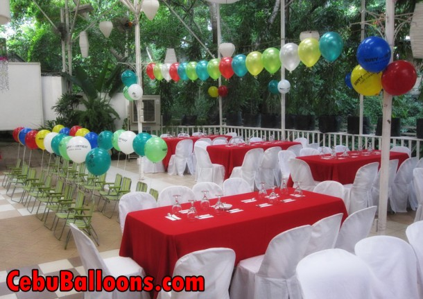 Stick Balloons and Balloon Buntings
