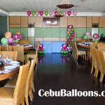 Strawberry Shortcake Balloon Decoration Package at Ching Palace (Room #4)