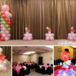 Strawberry Shortcake Theme Balloon Decoration Package at Diamond Hotel