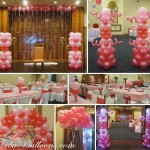 Sweet 16 Balloon Decoration Package