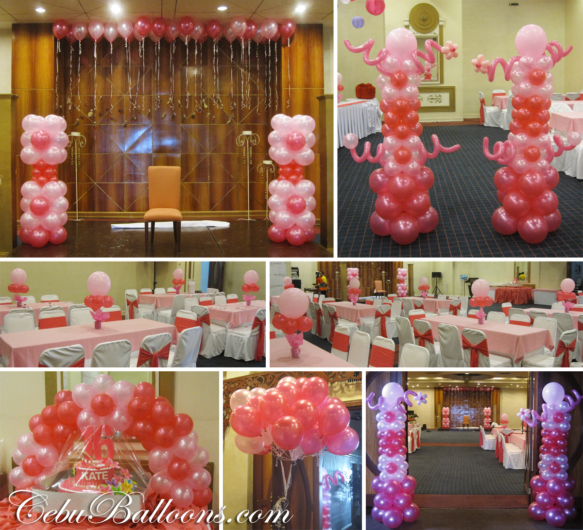 Debut 18th birthday sweet 16th birthday cebu for 18 birthday decoration ideas
